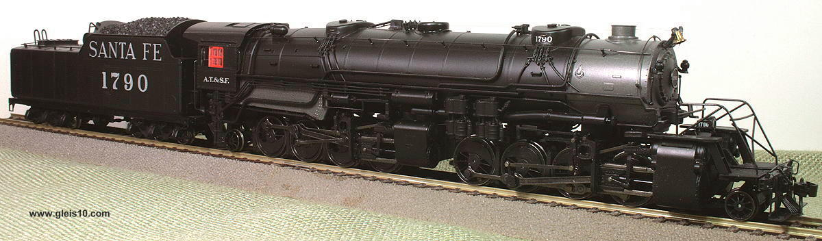 us steam locomotive a t s f loknr 1790 big boy digital. Black Bedroom Furniture Sets. Home Design Ideas
