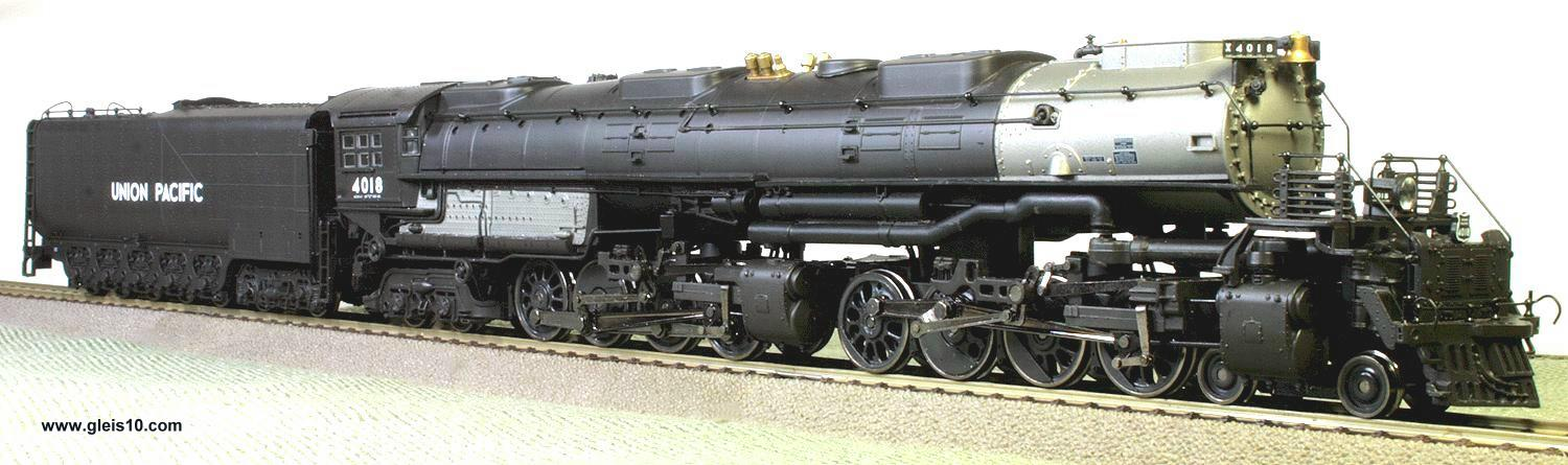 us steam locomotive big boy class 4000 union pacific 4018. Black Bedroom Furniture Sets. Home Design Ideas